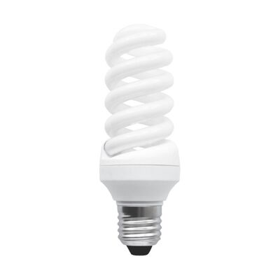 Žiarivka CFL/T3 E27/15W,4000K, bielej  farby